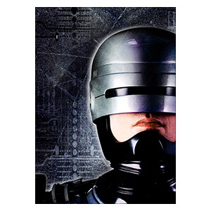 RoboCop. Размер: 30 х 42 см
